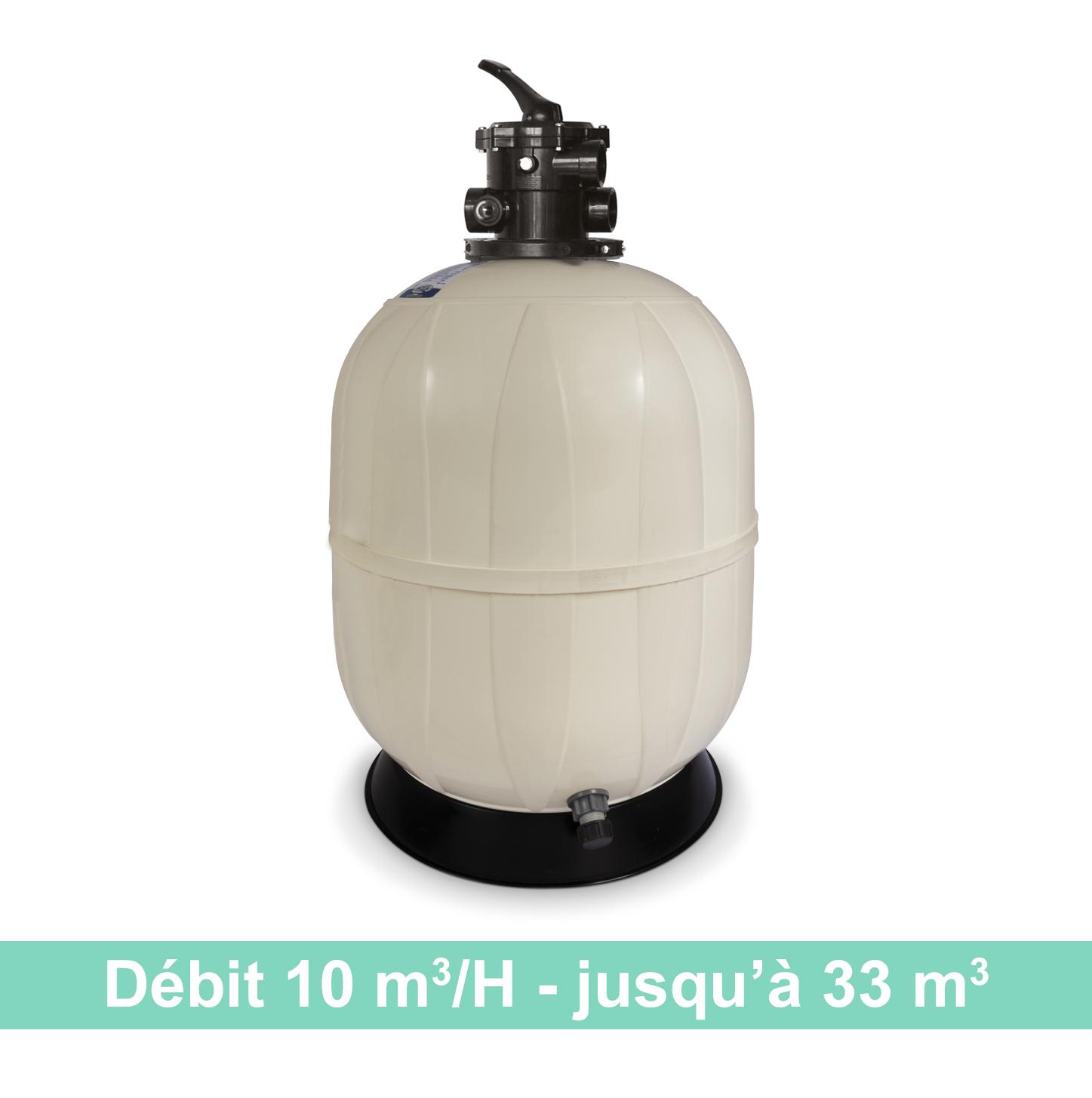 Kristal Sand Top - filtre à sable