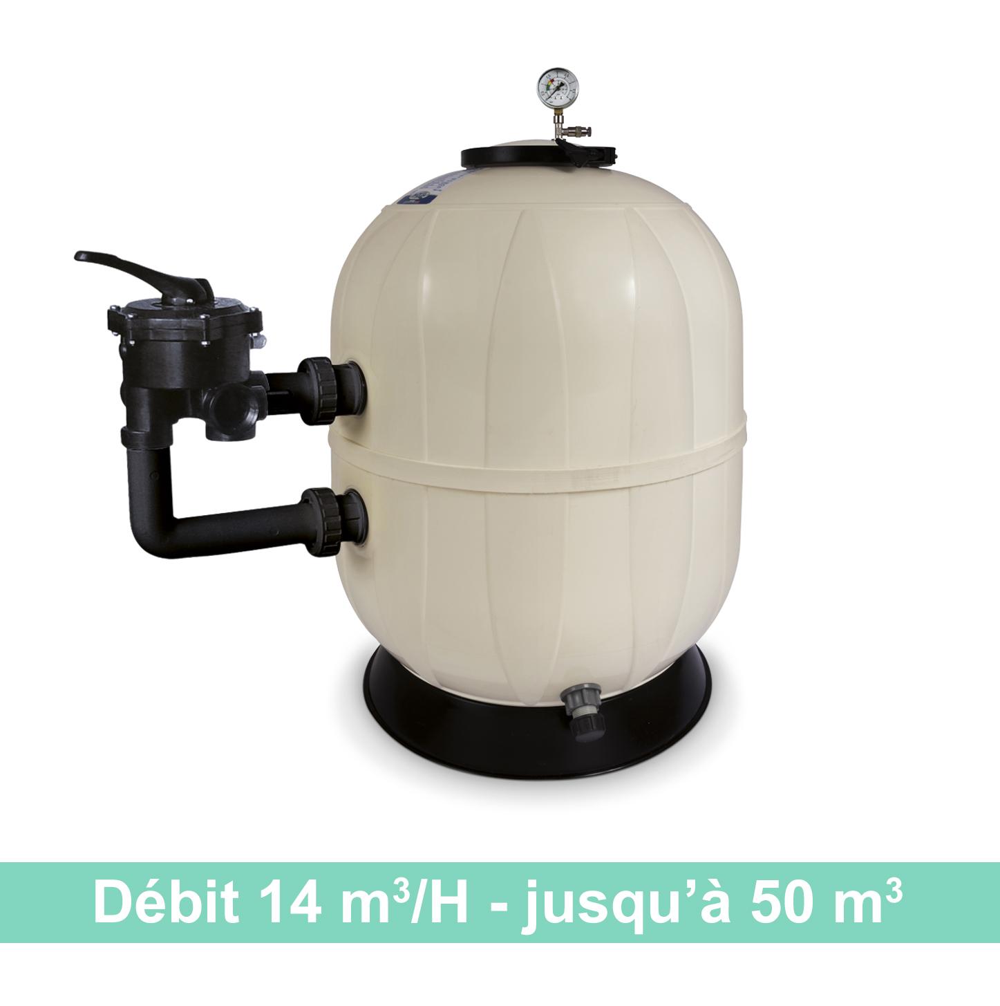 Kristal Sand Side - filtre à sable