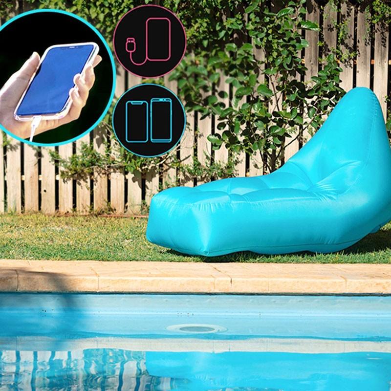 Fauteuil Travel Chair connecté gonflable